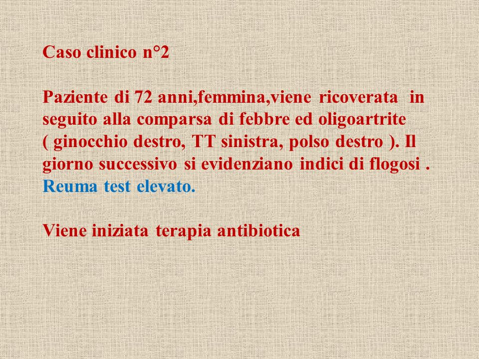Caso clinico n°2