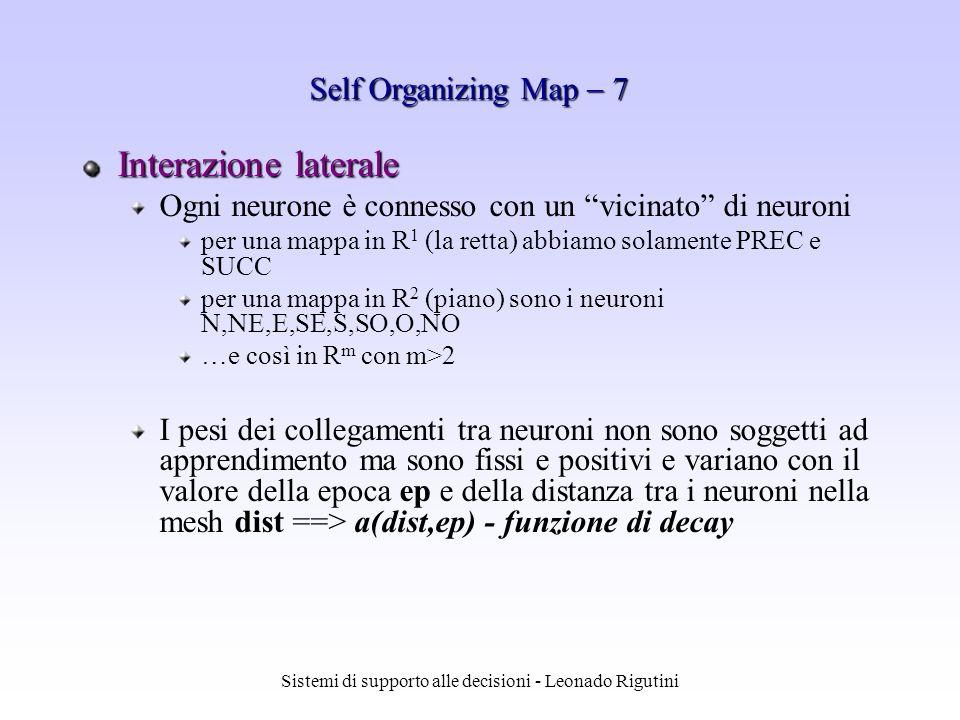 Sistemi di supporto alle decisioni - Leonado Rigutini