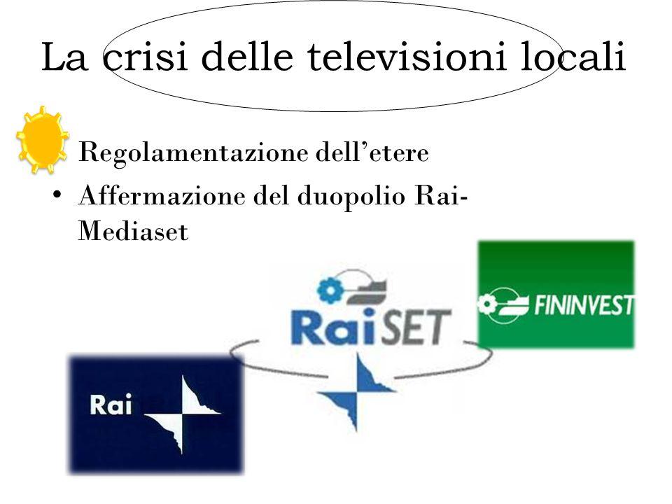 La crisi delle televisioni locali