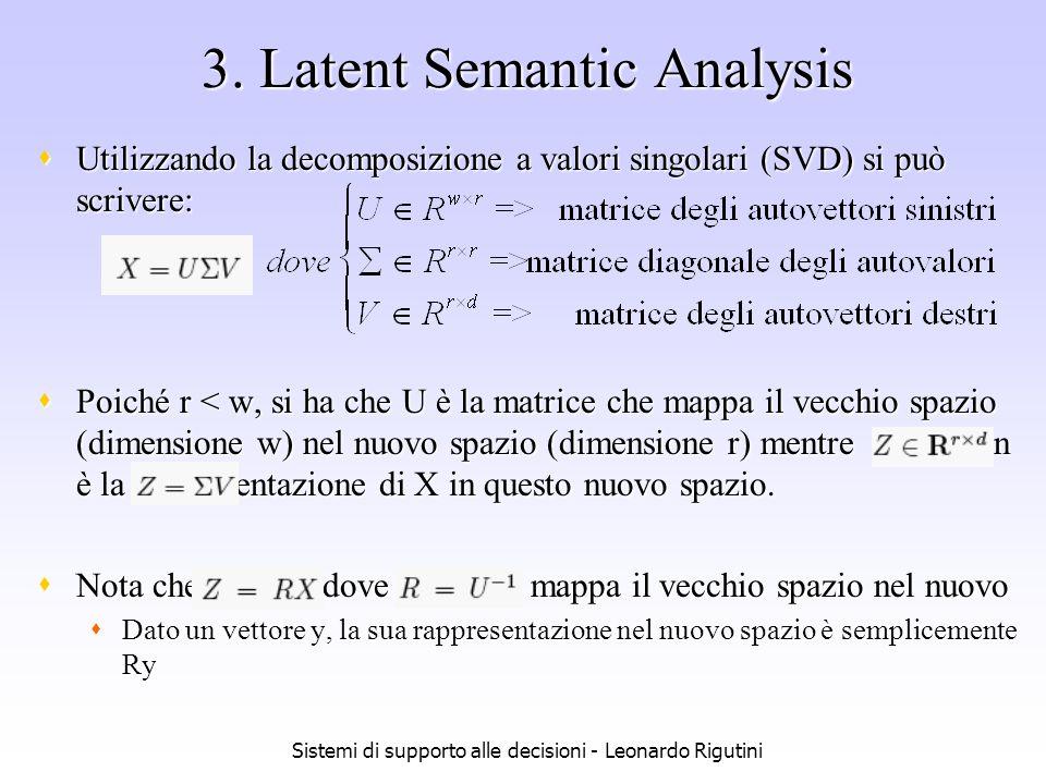 3. Latent Semantic Analysis