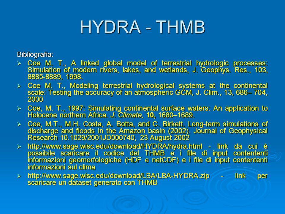 HYDRA - THMB Bibliografia:
