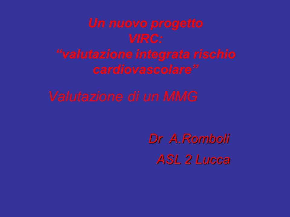 Valutazione di un MMG Dr A.Romboli ASL 2 Lucca