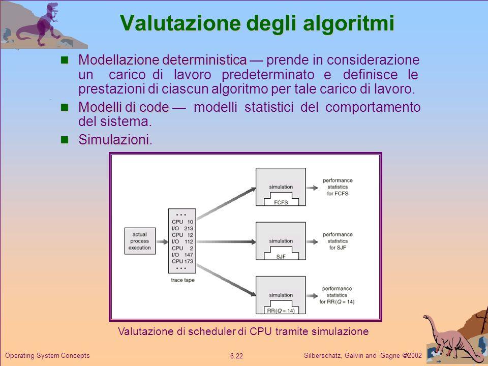 Valutazione degli algoritmi