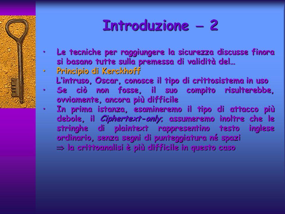 Introduzione  2 Le tecniche per raggiungere la sicurezza discusse finora si basano tutte sulla premessa di validità del…