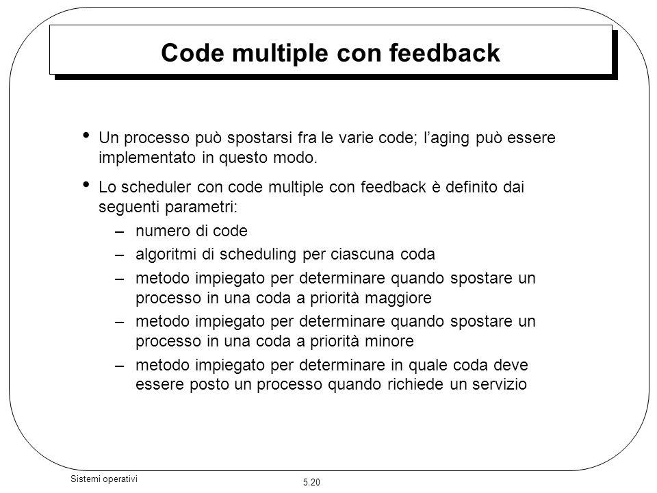 Code multiple con feedback
