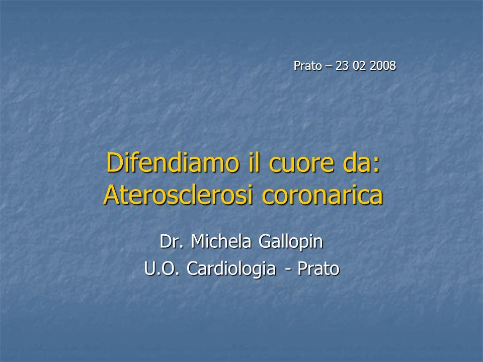 Difendiamo il cuore da: Aterosclerosi coronarica