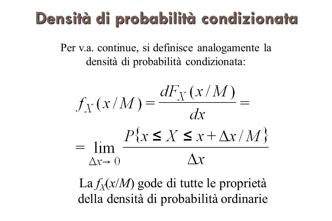 Densità di probabilità condizionata