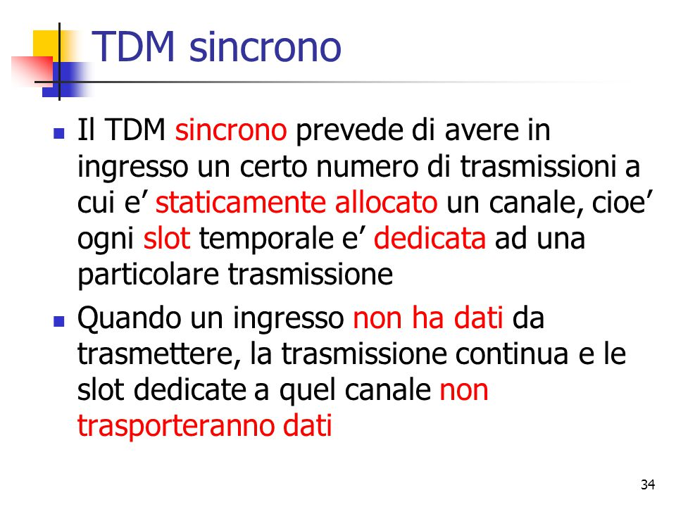 TDM sincrono