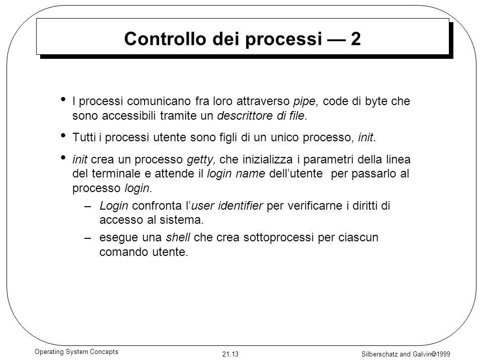 Controllo dei processi — 2