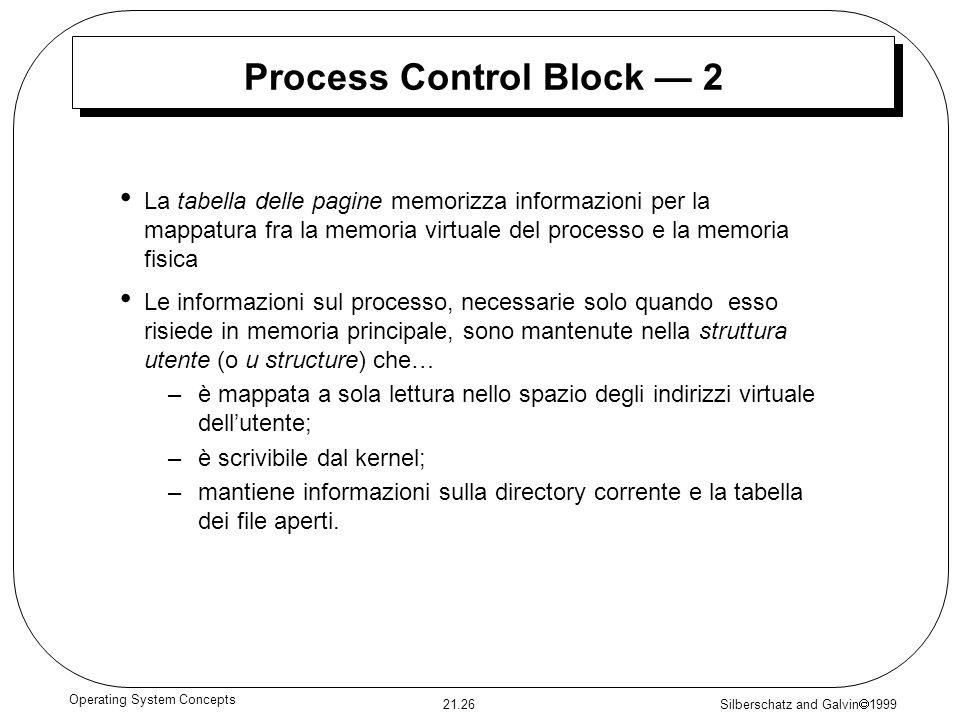 Process Control Block — 2