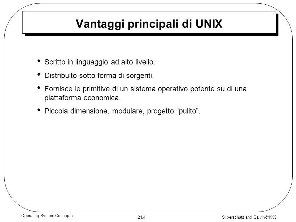Vantaggi principali di UNIX