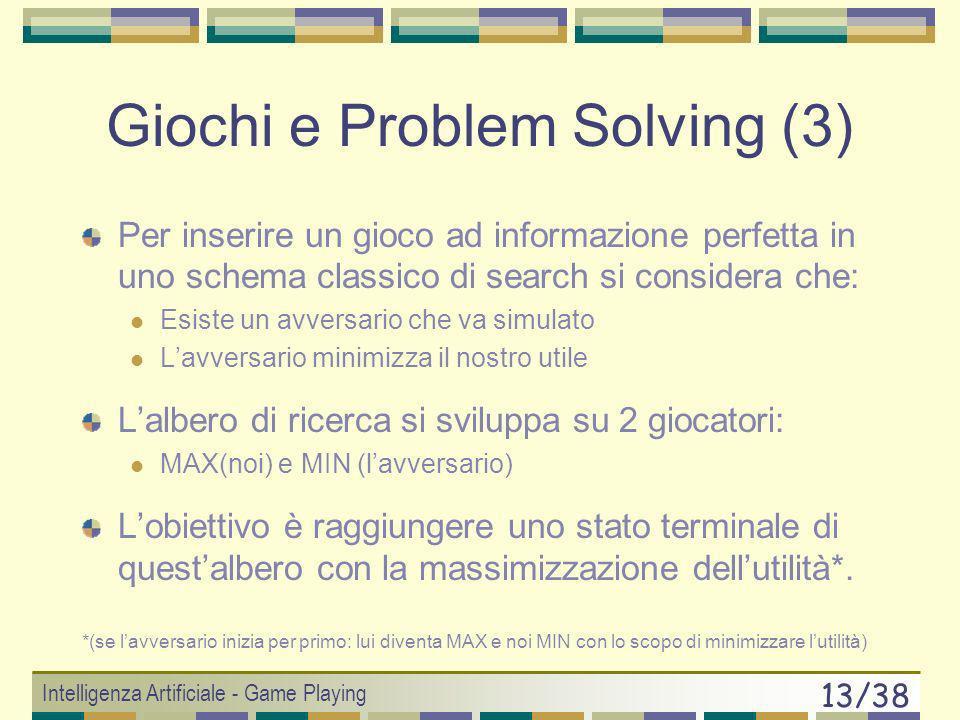 Giochi e Problem Solving (3)
