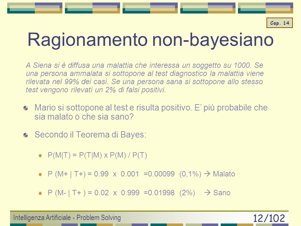 Ragionamento non-bayesiano