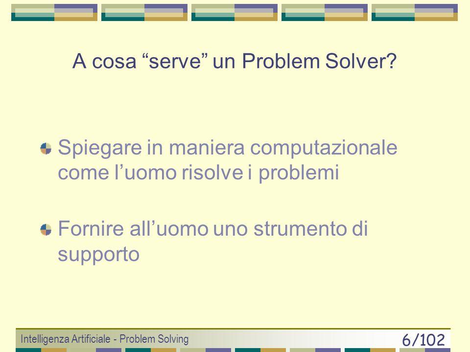 A cosa serve un Problem Solver