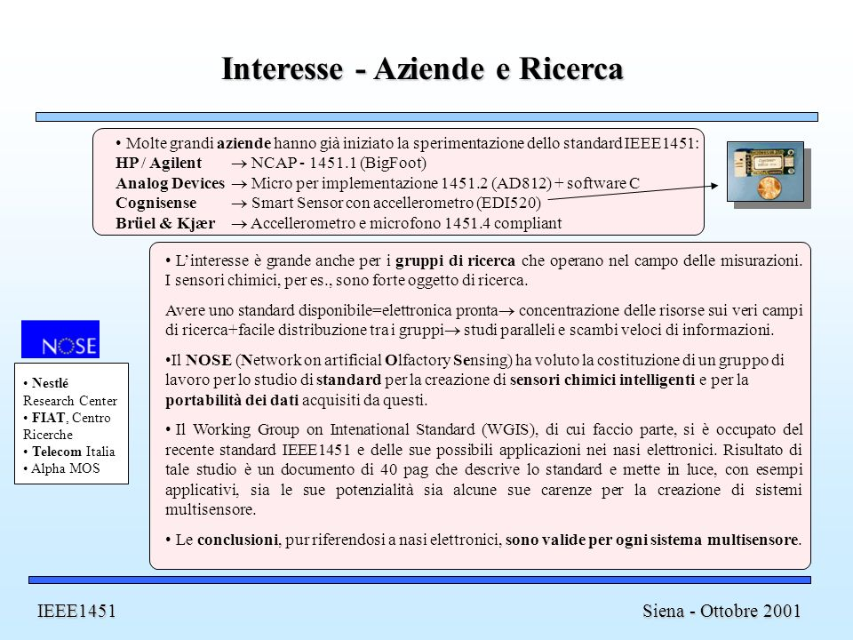 Interesse - Aziende e Ricerca