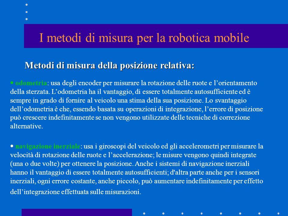 I metodi di misura per la robotica mobile