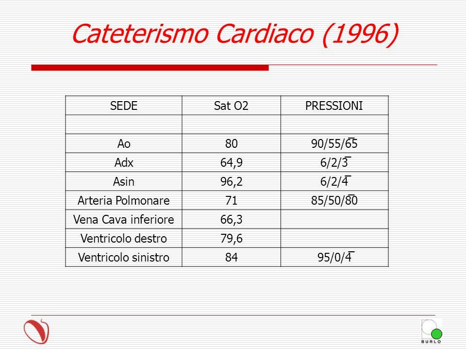 Cateterismo Cardiaco (1996)
