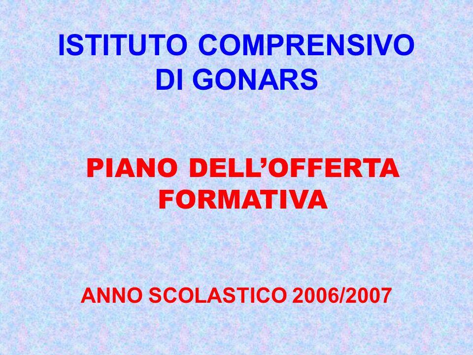 ISTITUTO COMPRENSIVO DI GONARS