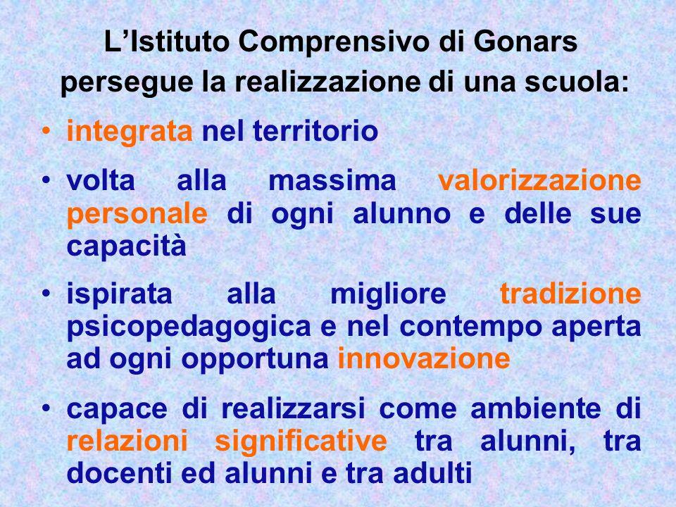 L'Istituto Comprensivo di Gonars