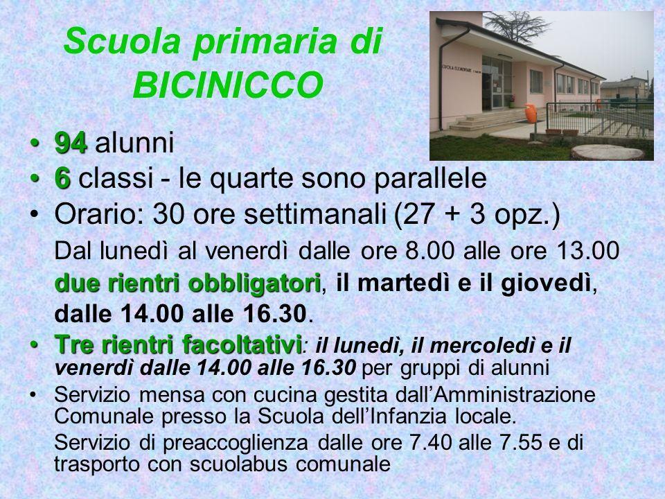 Scuola primaria di BICINICCO