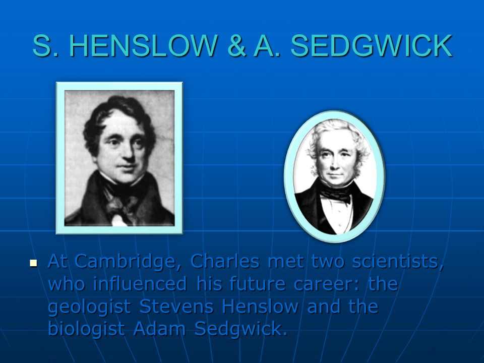 S. HENSLOW & A. SEDGWICK
