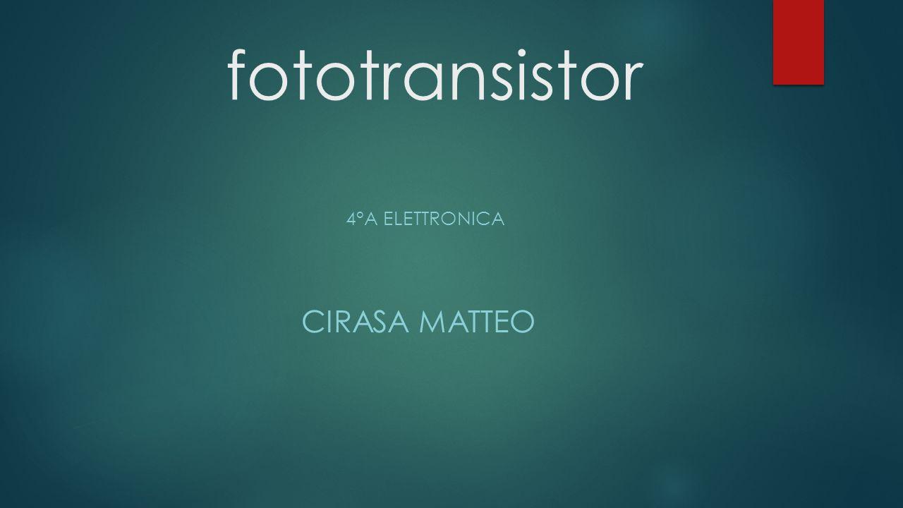 4°a Elettronica Cirasa Matteo