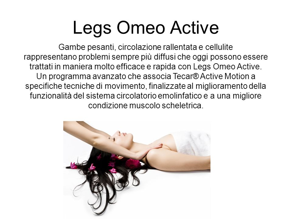 Gambe pesanti, circolazione rallentata e cellulite