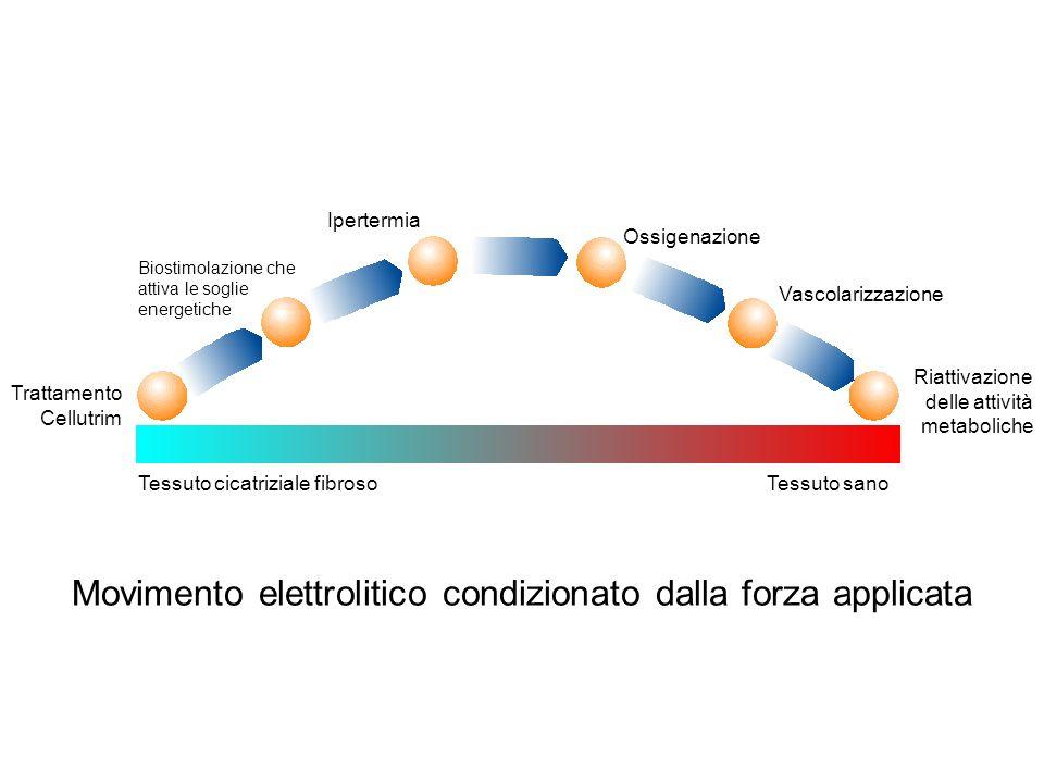 Movimento elettrolitico condizionato dalla forza applicata