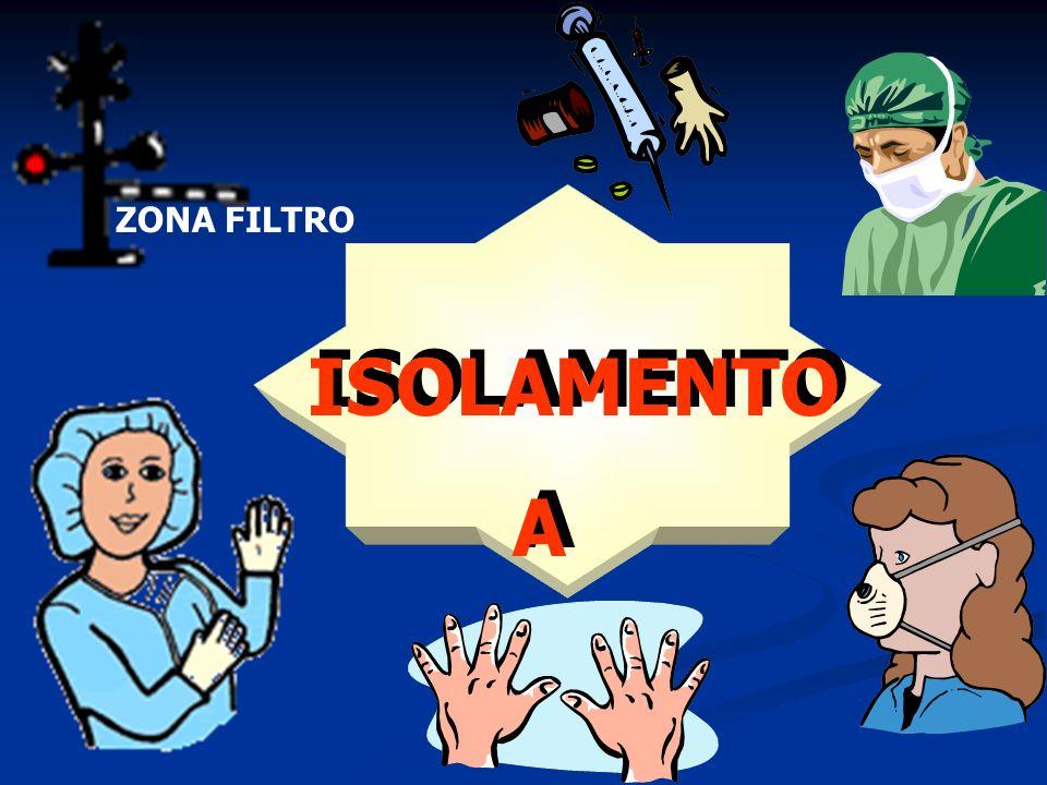 ZONA FILTRO ISOLAMENTO A