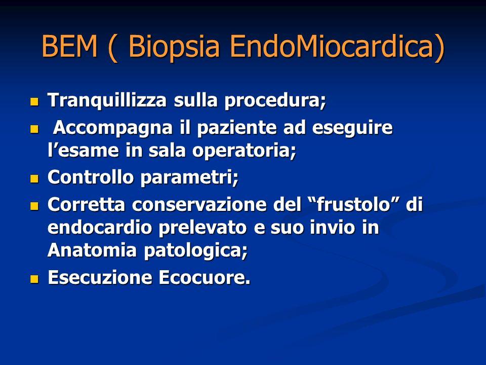 BEM ( Biopsia EndoMiocardica)