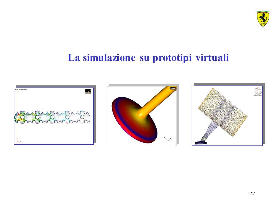 La simulazione su prototipi virtuali