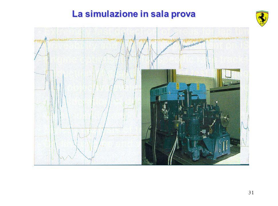 La simulazione in sala prova