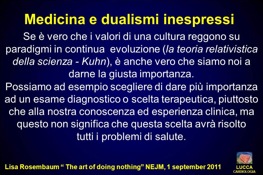 Medicina e dualismi inespressi