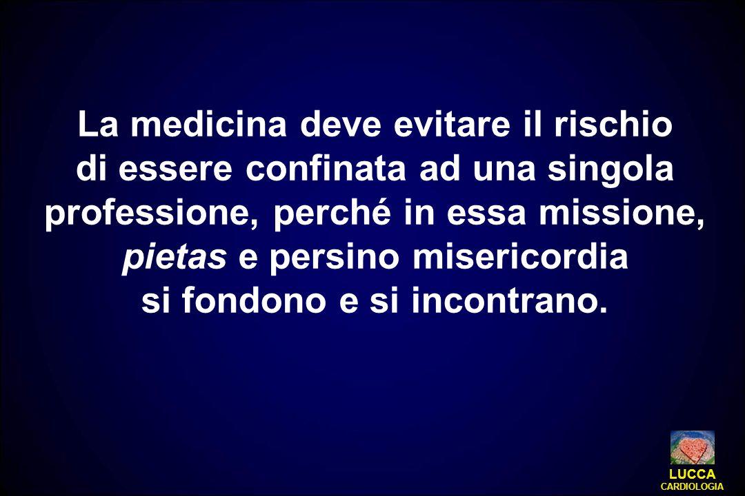 La medicina deve evitare il rischio si fondono e si incontrano.