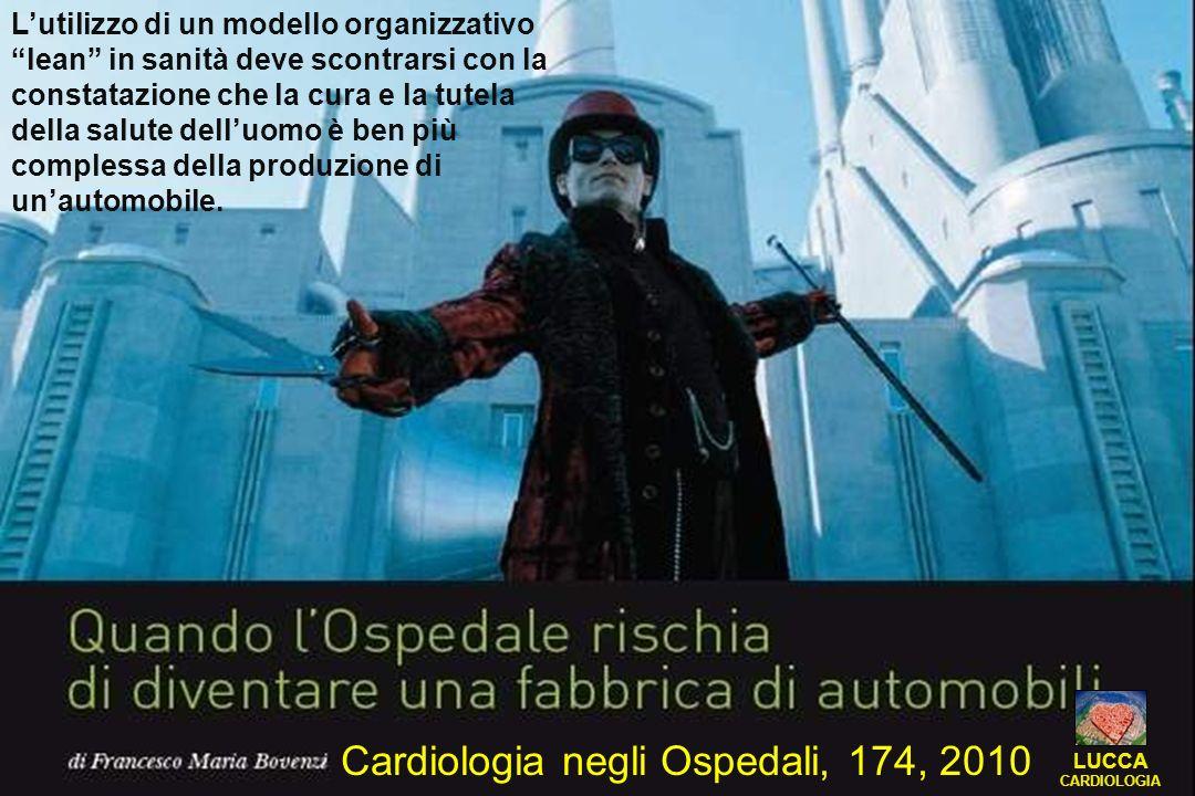Cardiologia negli Ospedali, 174, 2010