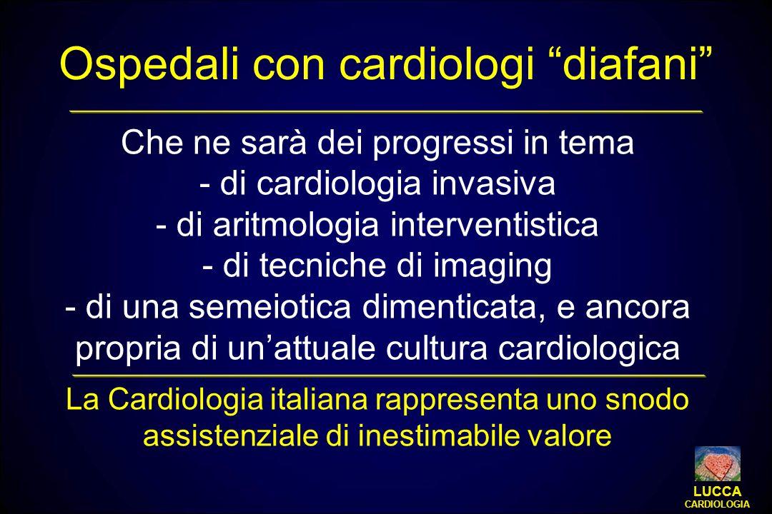 Ospedali con cardiologi diafani