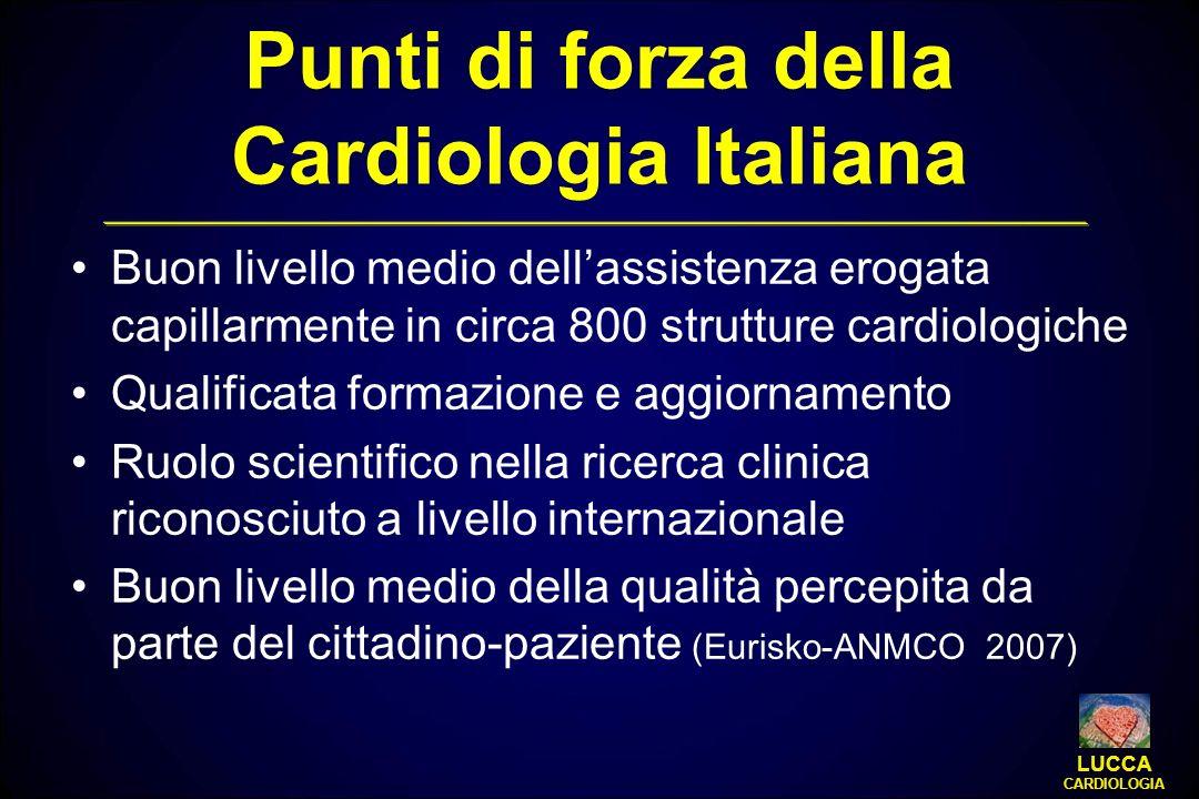 Punti di forza della Cardiologia Italiana