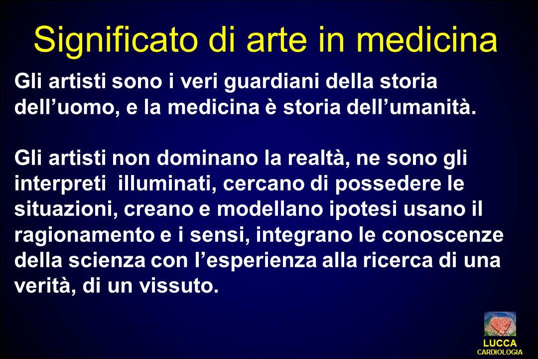 Significato di arte in medicina