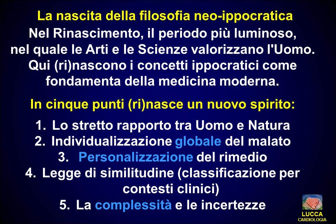 La nascita della filosofia neo-ippocratica