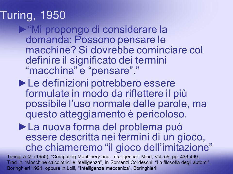 Turing, 1950
