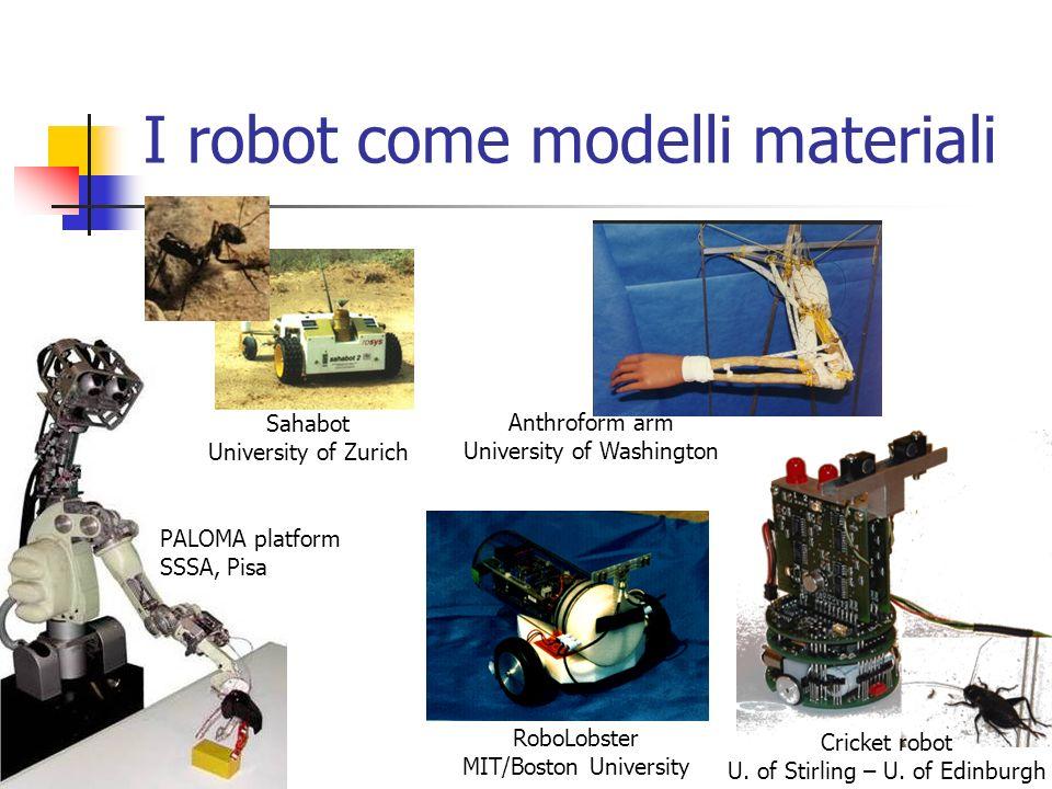 I robot come modelli materiali