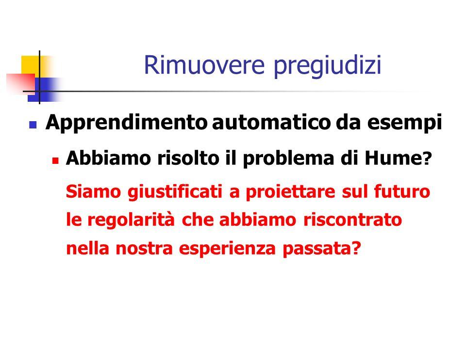 Rimuovere pregiudizi Apprendimento automatico da esempi