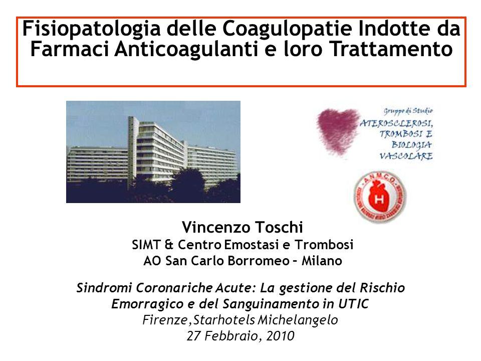 SIMT & Centro Emostasi e Trombosi AO San Carlo Borromeo – Milano