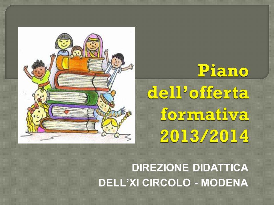 Piano dell'offerta formativa 2013/2014