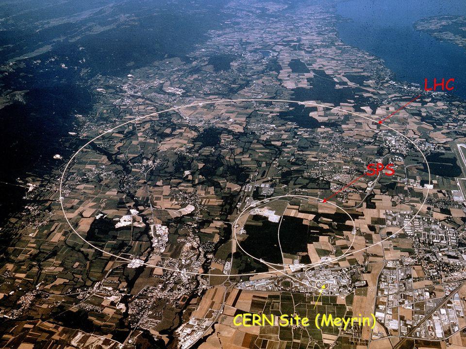 CERN Site LHC SPS CERN Site (Meyrin)