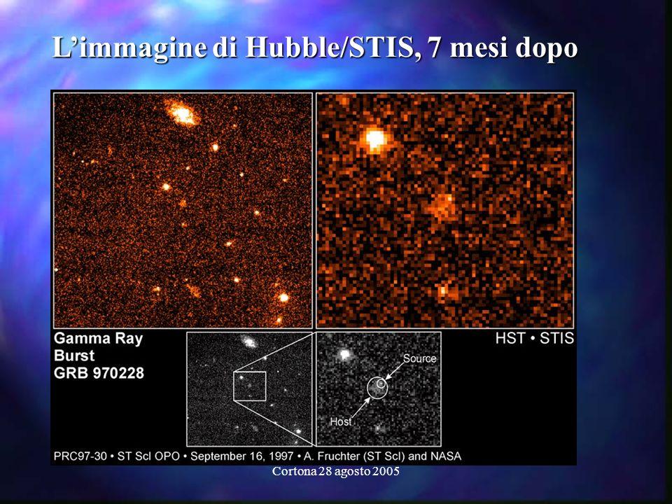 L'immagine di Hubble/STIS, 7 mesi dopo
