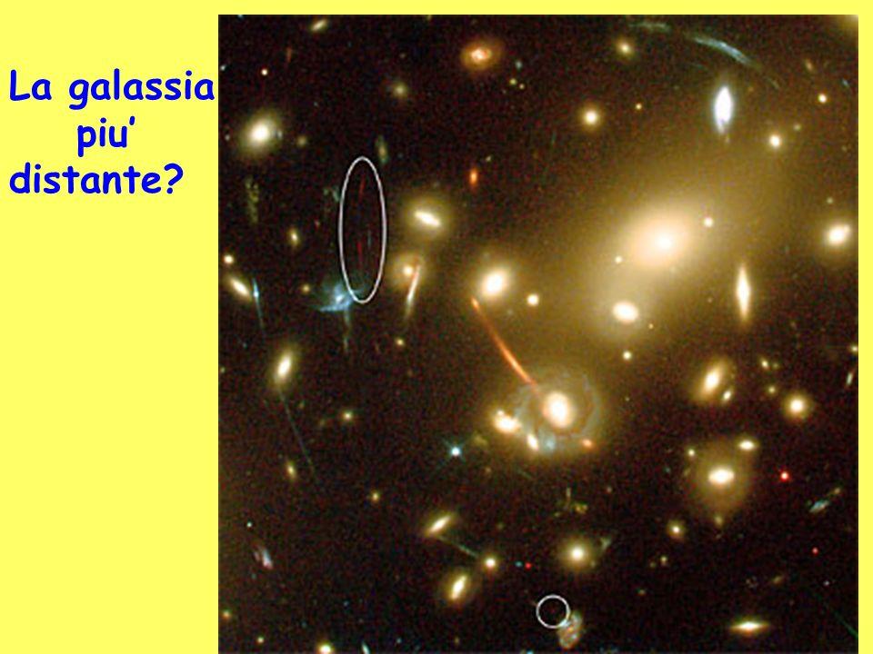 La galassia piu' distante