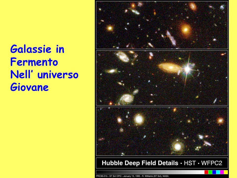 Galassie in Fermento Nell' universo Giovane