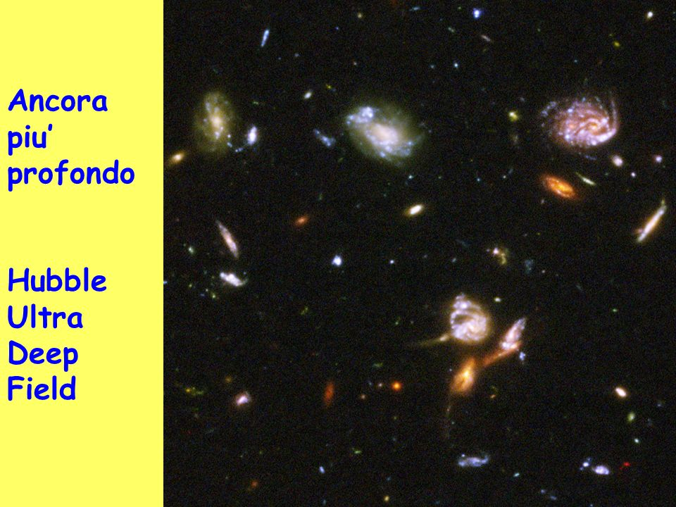 Ancora piu' profondo Hubble Ultra Deep Field