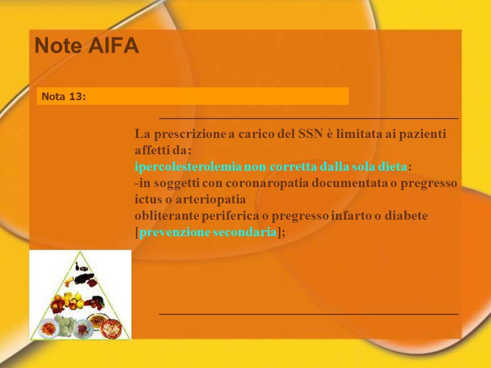 27/03/2017Note AIFA. Nota 13:
